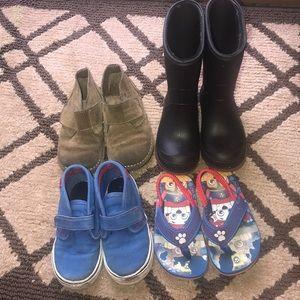 Boys shoe bundle 7/8
